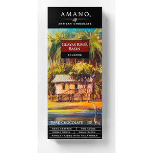 Amano Artisan Chocolate - 1 Case (12 Bars) Guayas River Basin 70%