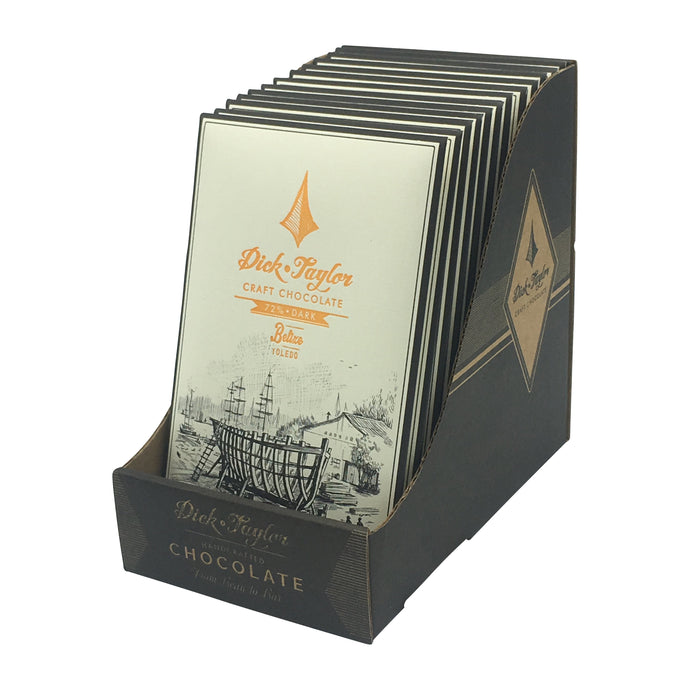 Dick Taylor Chocolate - 1 Case (12 Bars) 72% Belize