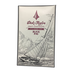 Dick Taylor Chocolate - 1 Case (12 Bars) Black Fig Chocolate Bars