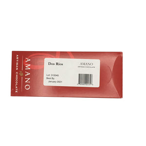 Amano Artisan Chocolate - 1 Case (12 Bars) Dos Rios 70%