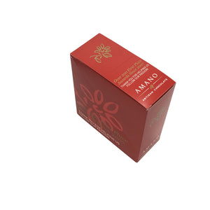 Amano Artisan Chocolate - 1 Case (12 Bars) Raspberry Rose 55%