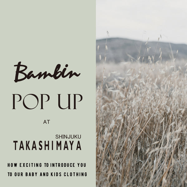 POP UP at TAKASHIMAYA TIMES SQUARE