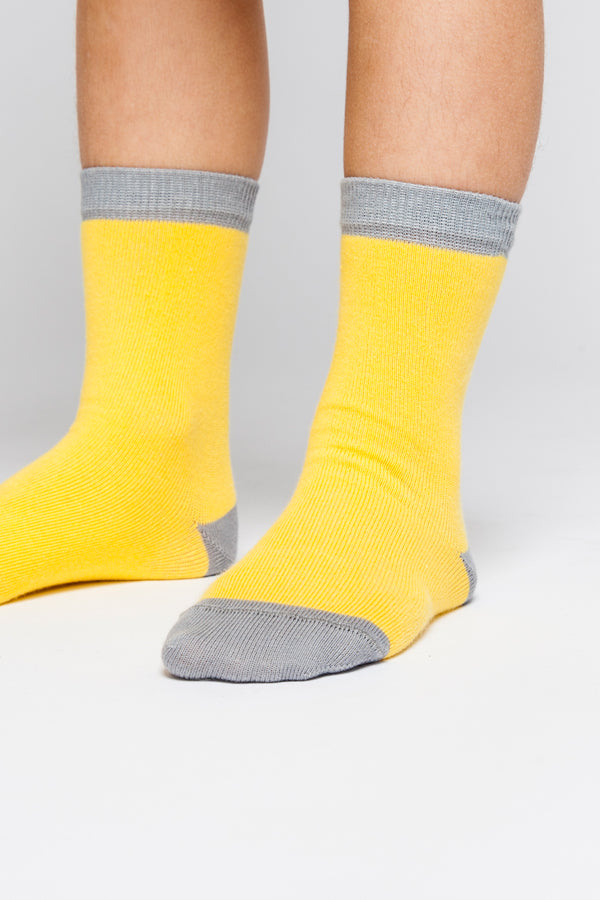 【20%OFF】SOCK MARIGOLD/GREY