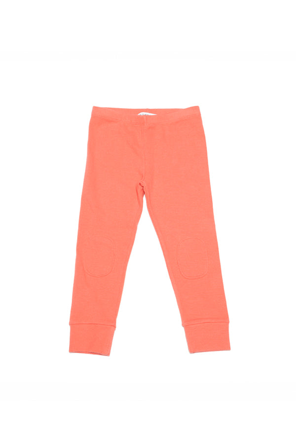 LEGGING RIB JERSEY DEEP SEA CORAL