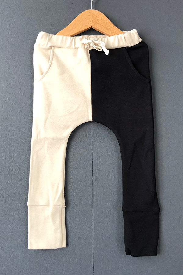 arkakama Sarouel Leggings IVORY x BLACK