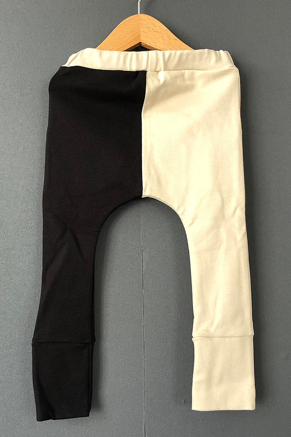 【40%OFF】arkakama Sarouel Leggings IVORY x BLACK