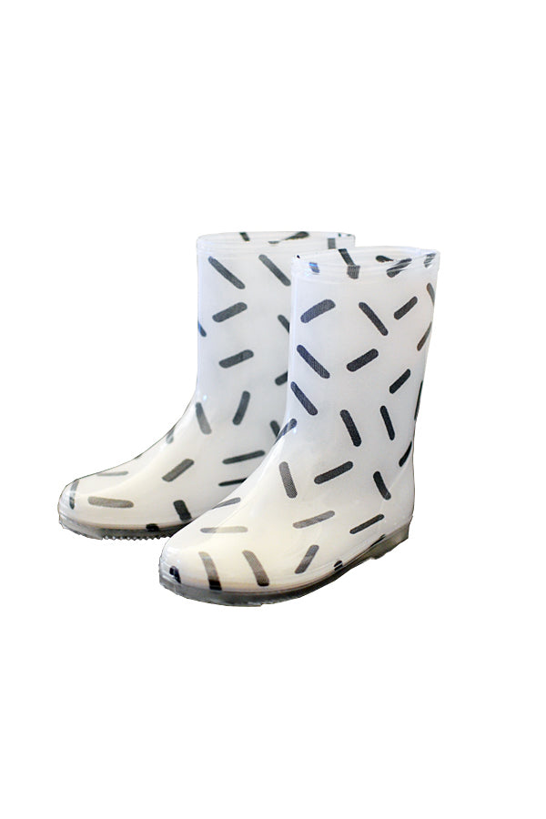 【35%OFF】GEOMETRY RAINBOOTS STICK