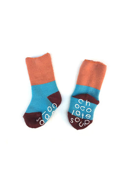 PILE SOX ORANGE BLUE