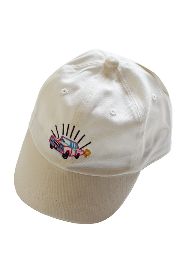 Soulsmania EMBROIDERED CAP WHITE M