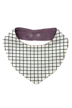 ChocolateSoup GEOMETRY SWEAT BIB GRID