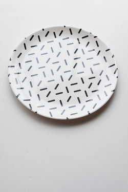 ChocolateSoup GEOMETRY MELAMINE PLATE stick
