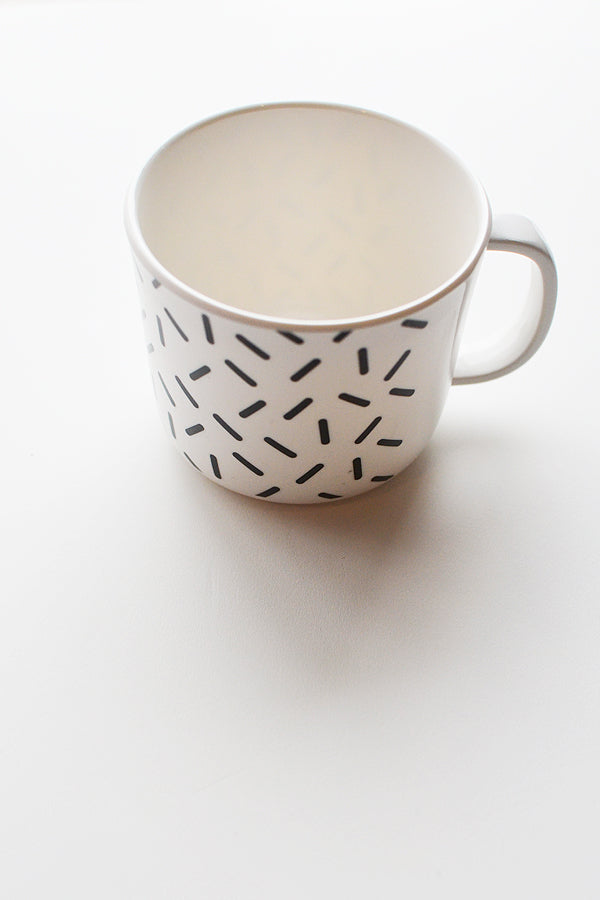ChocolateSoup GEOMETRY MELAMINE MUGCUP stick