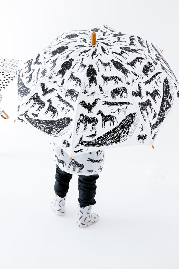 ChocolateSoup ANIMAL UMBRELLA with Tanaka Kentarou WHITE