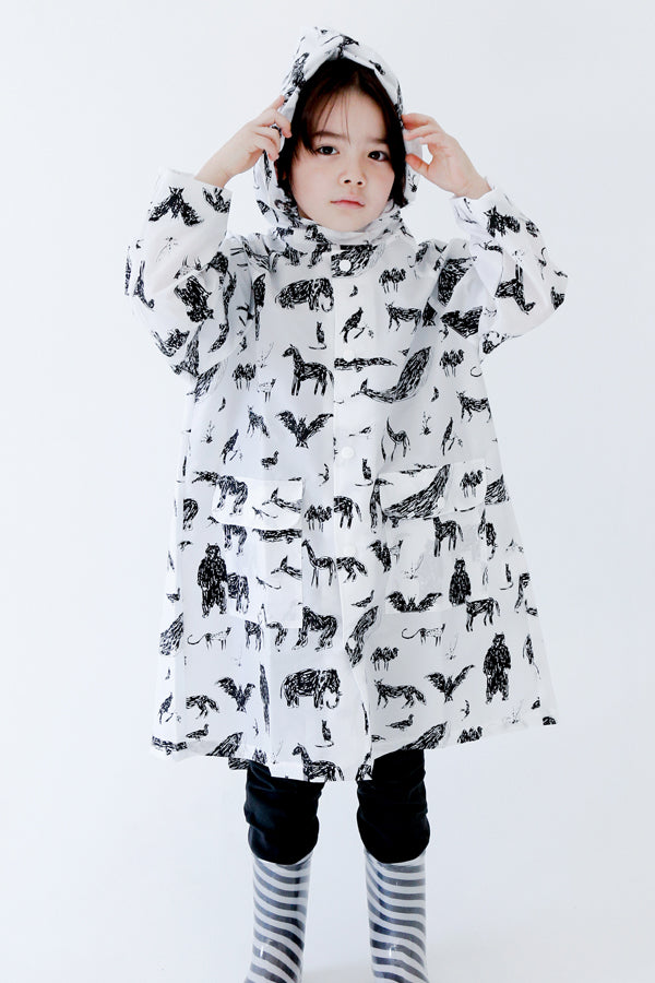 ChocolateSoup GEOMETRY RAINCOAT ANIMAL