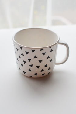 ChocolateSoup GEOMETRY MELAMINE MUGCUP triangle