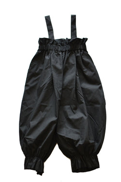 【30%OFF】folk made Long pants with suspenders ブラック