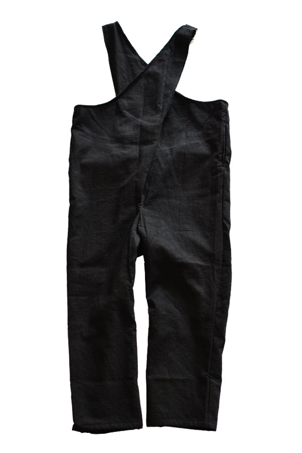 folk made Cross Overalls ブラック