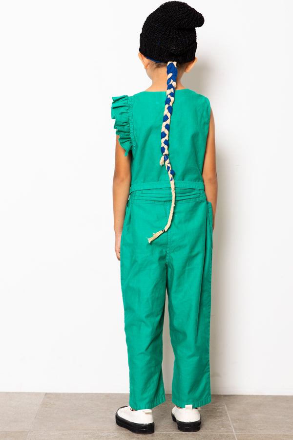 folk made handsome coverall green
