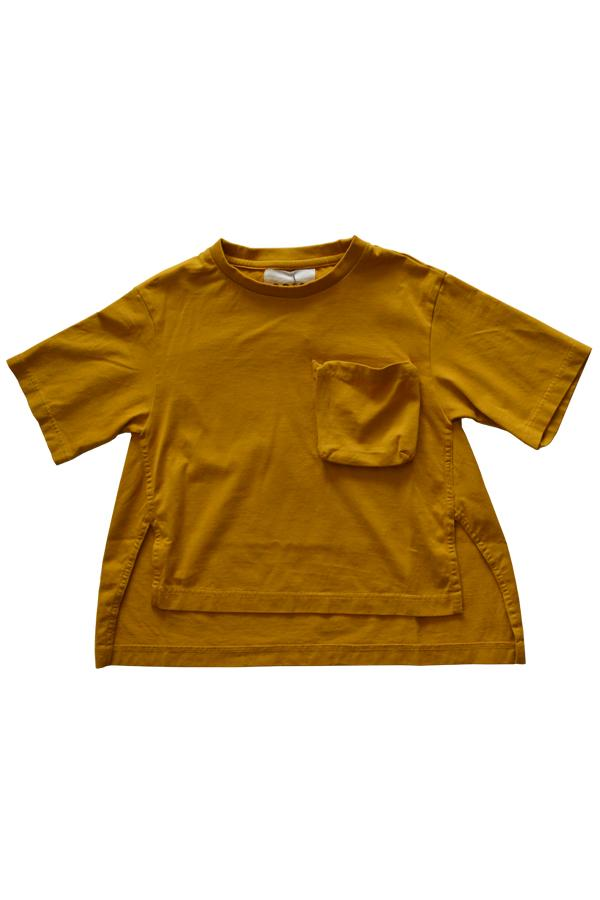 【30%OFF】GRIS Print Big T-Shirts Mustard