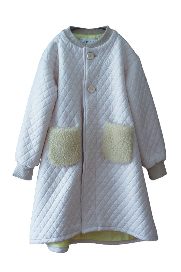 【35%OFF】Quilting longcoat Off-White