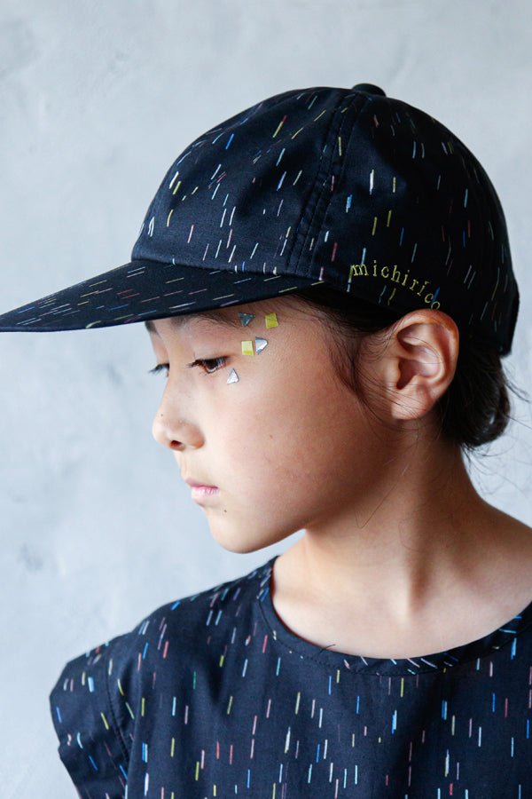 【20%OFF】michirico Cap F ブラック