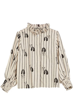 Cats + Dogs blouse
