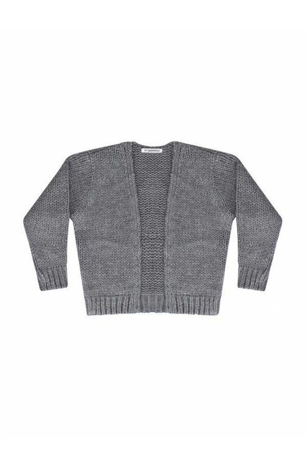 MINGO. BASIC CARDIGAN GREY