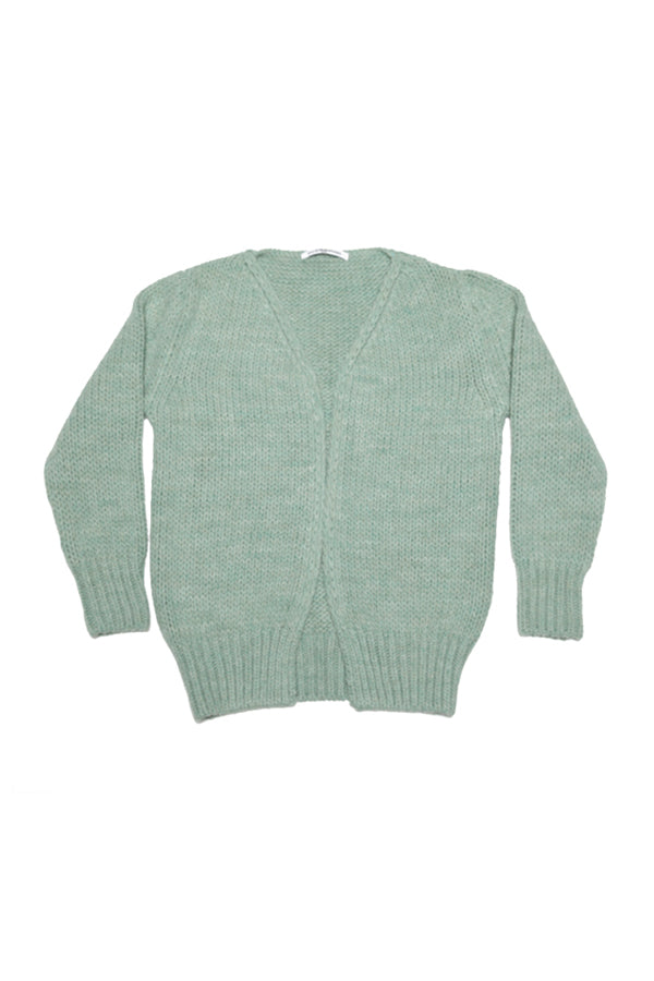 CARDIGAN DUCK GREEN