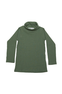 TURTLE NECK DUCK GREEN