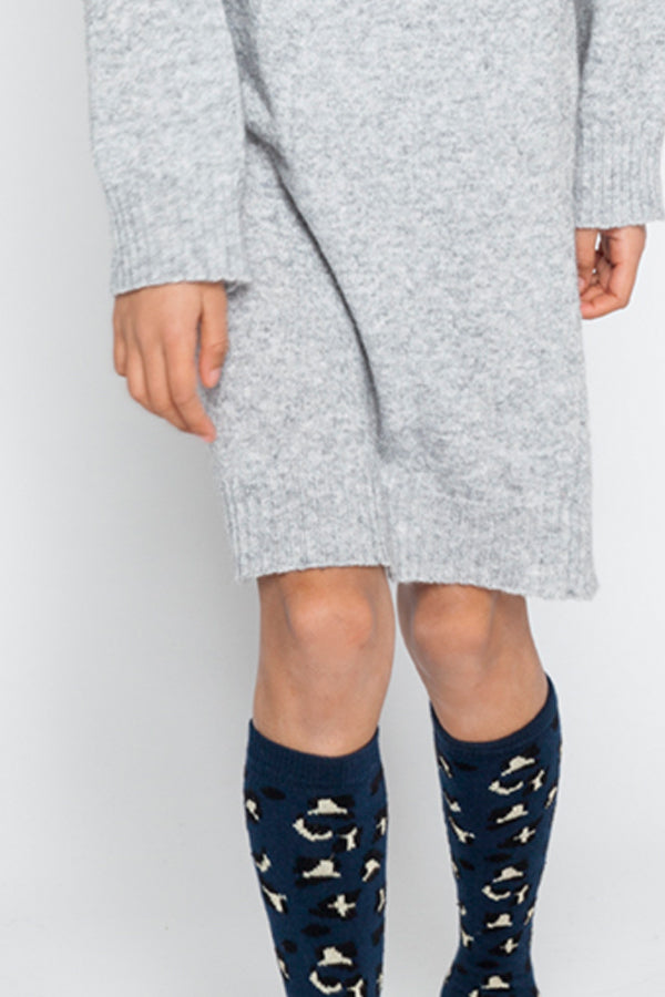 KNEE SOCKS SPECKLES LUREX