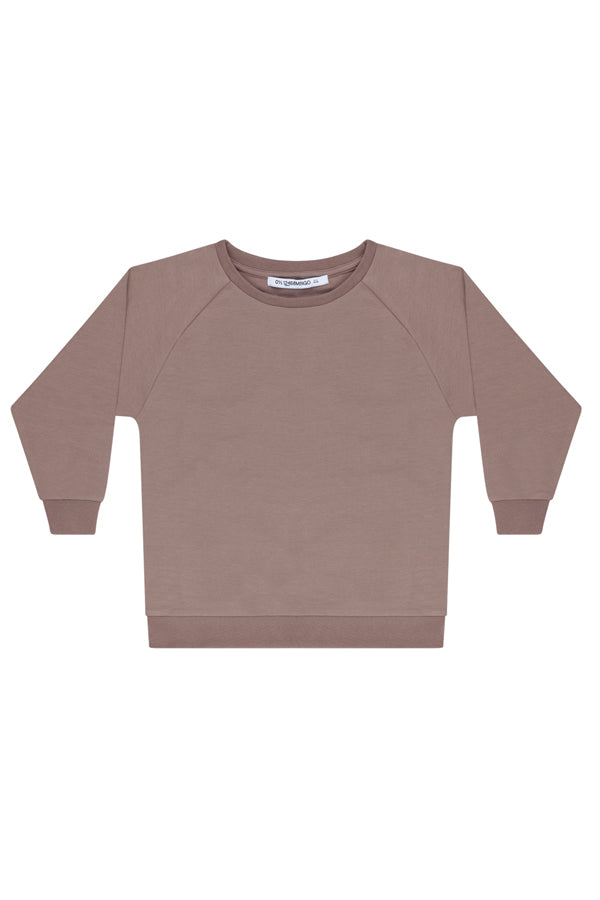 MINGO. OVERSIZED SWEATER TAUPE