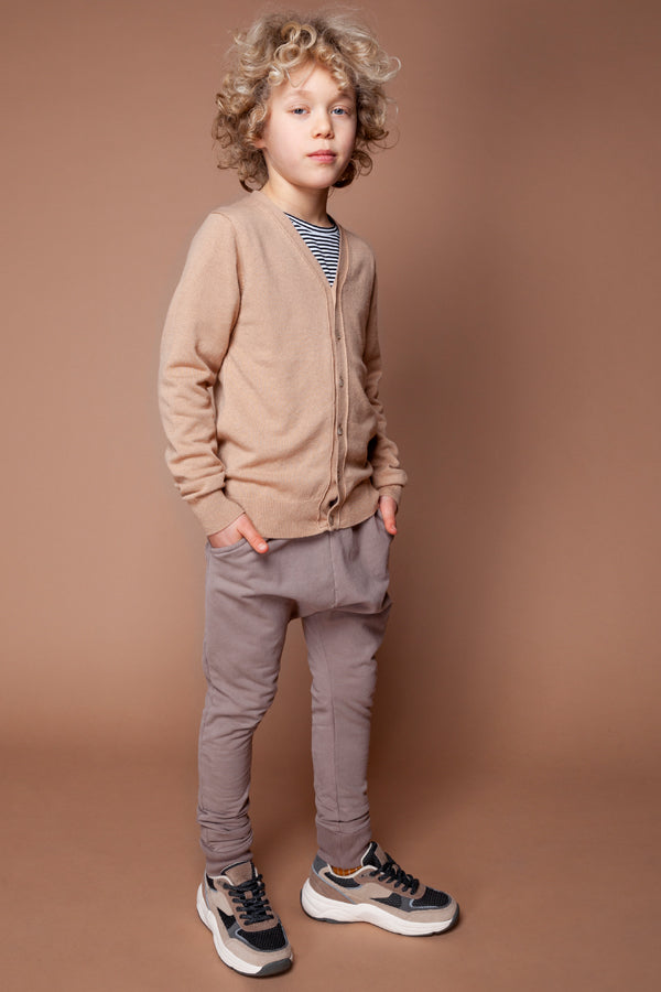 MINGO. WINTER SLIM FIT JOGGER TAUPE