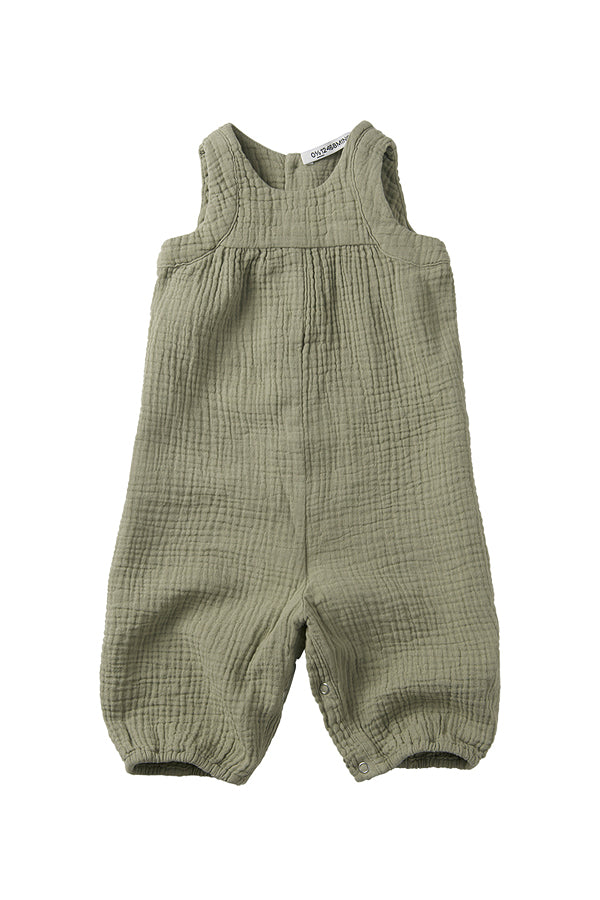 MINGO. SLEEVELESS PLAYSUIT LAUREL OAK