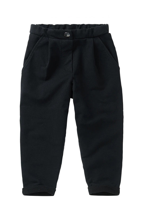 MINGO. CROPPED CHINO BLACK