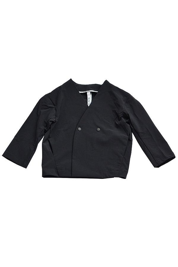 NYLON STRETCH JACKET<black>