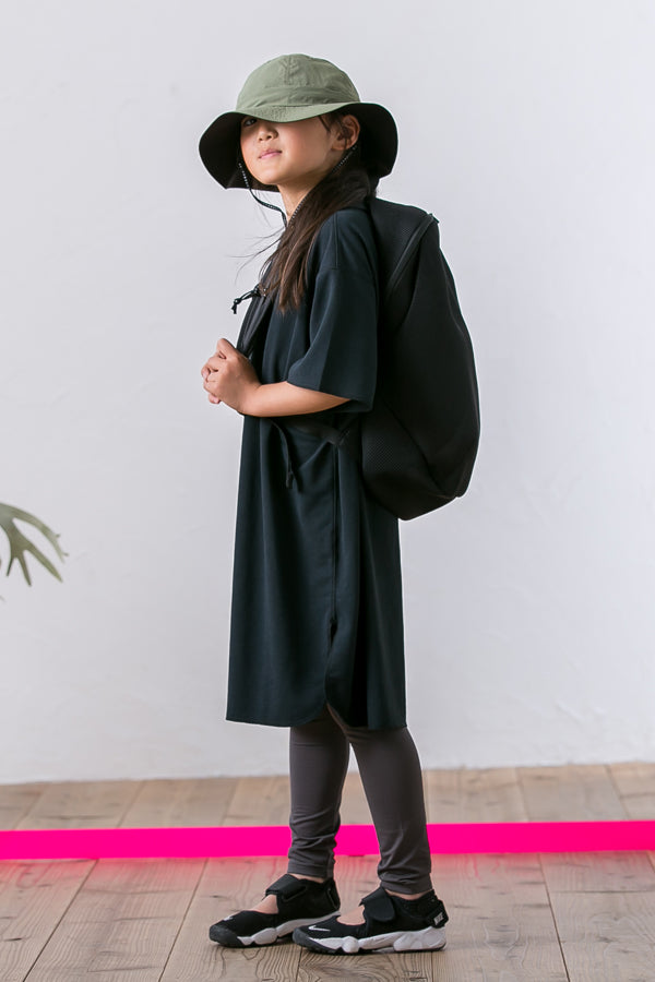 【長澤様ご予約品】MOUN TEN. seed stitch dress black 140
