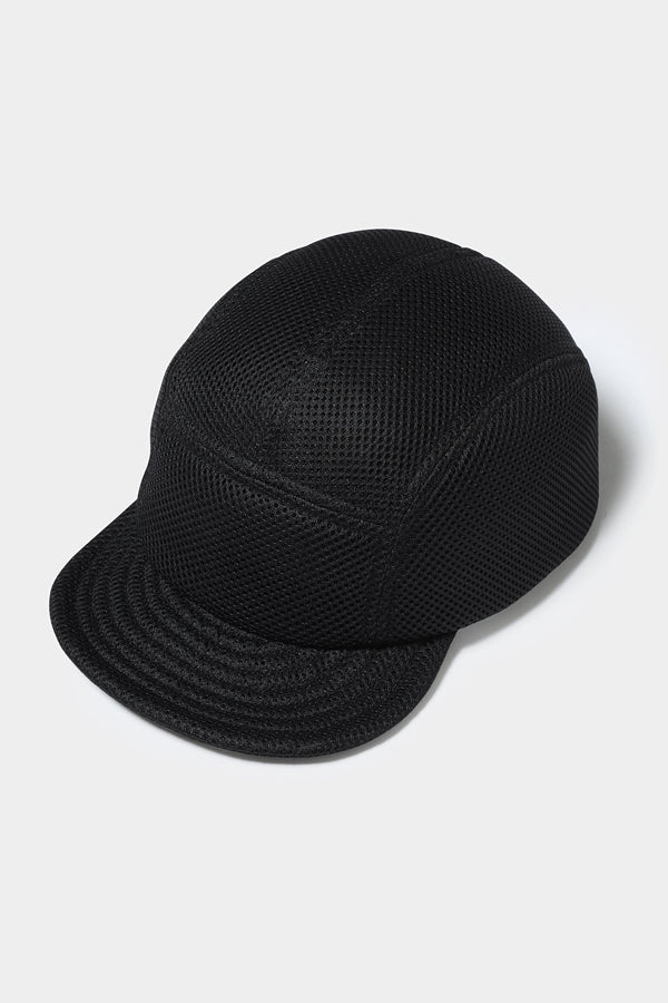 MOUN TEN. double russell mesh jetcap black