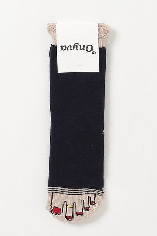 ONYVA YUBI SOCKS BABY Black