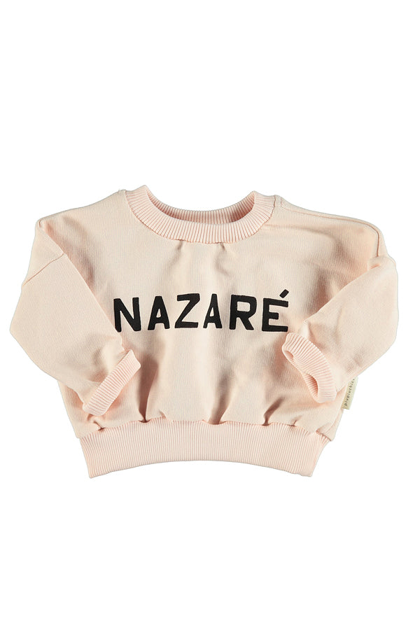 PIUPIUCHICK BABY SWEATSHIRT LIGHT PINK