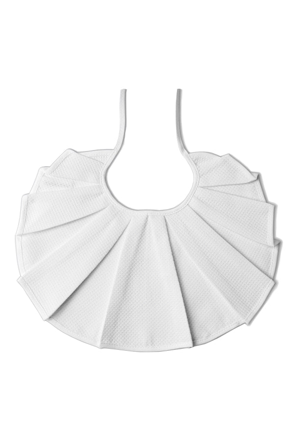 Rocket Pear pleats collar BIB