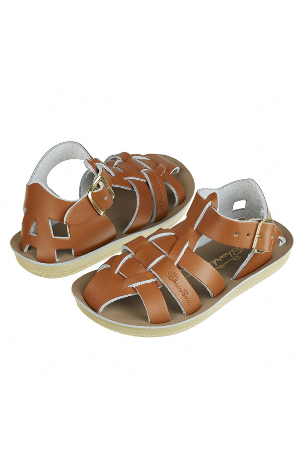 Salt Water Sandals Sun-San Shark タン