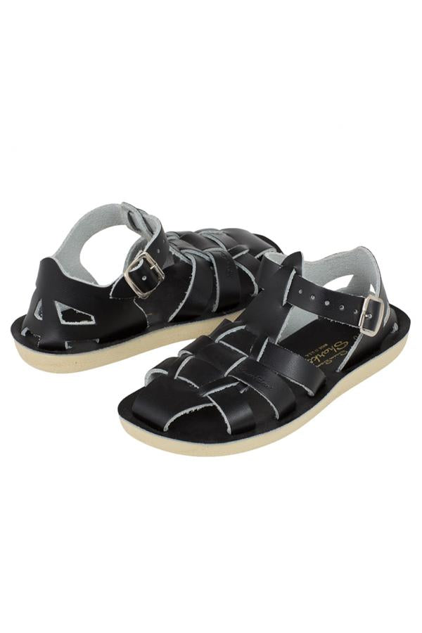 【ご予約商品】Salt Water Sandals Sun-San Shark ブラック