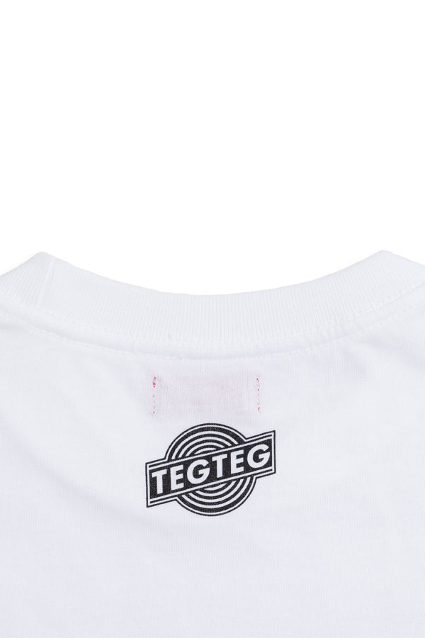 "【35%OFF】TEG SLICE ""Pepperoni pizza"" Tee White"