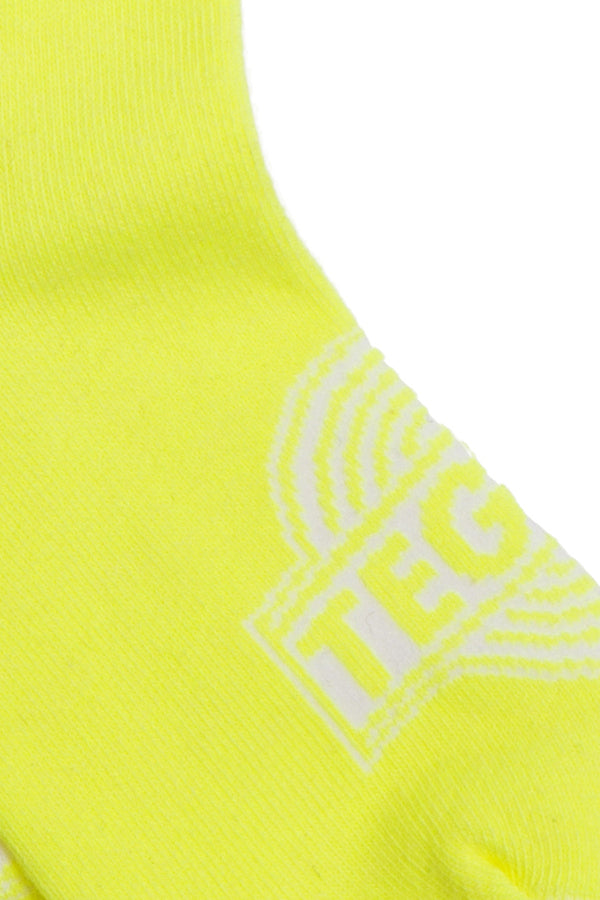 【10%OFF】TEG Neon Line Socks Yellow