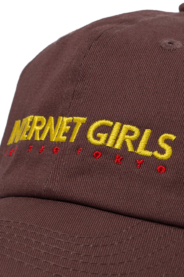 TEG INTERNET GIRLS Cap Brown