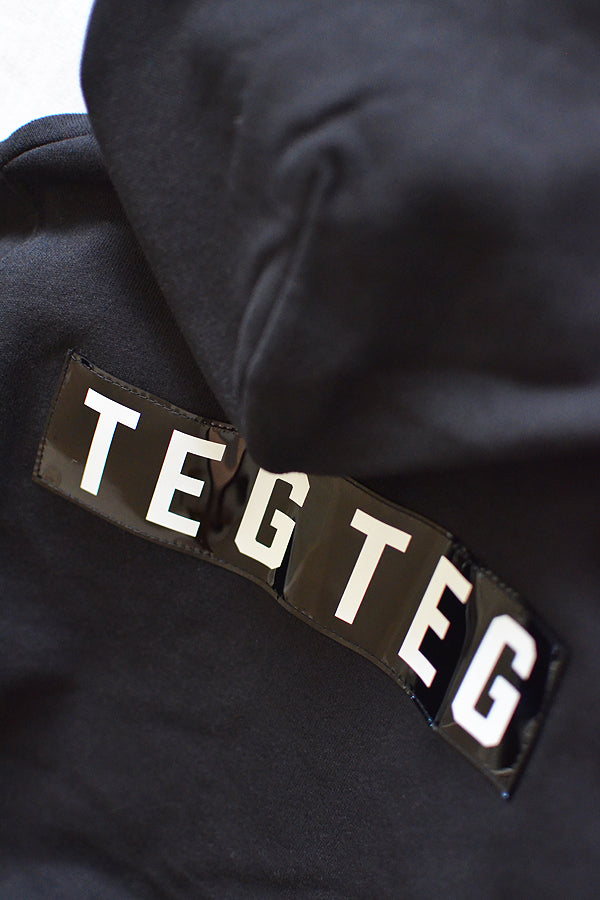 TEG TEG Zip Up Hoodie BLACK