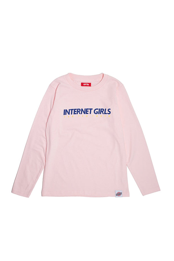 TEG INTERNET GIRLS LS Tee PINK