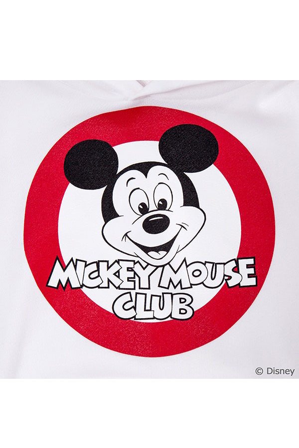 【30%OFF】TEG Hoodie MICKEY MOUSE CLUB WHITE