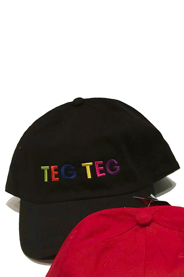 【30%OFF】TEG TEG POP BOX Cap Black