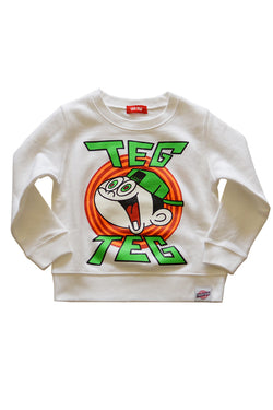 TEG TEG HYPER BOY Crew Neck White
